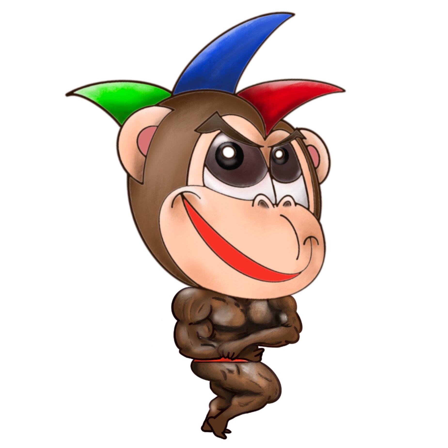 菊(筋肉チンパンジードラマー)